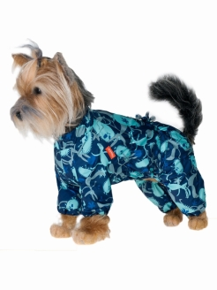 Overalls for dogs, for dogs, for cats, unisex Happy Puppy
