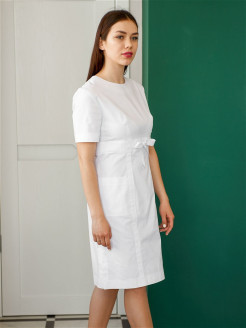 Medical dress, elastic material DOCLIKE