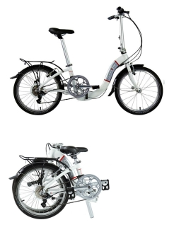 "Two-wheeled bicycle, V-brake, road, non-year, 20"", 7 PC. Dahon"