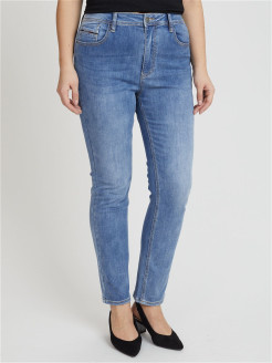 Jeans, boiled effect, narrowed DESIMALL