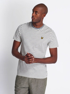 Футболка Stripe Ringer T-Shirt Lyle & Scott