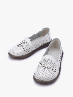 Flat shoes, without classification O-LIVE naturalle