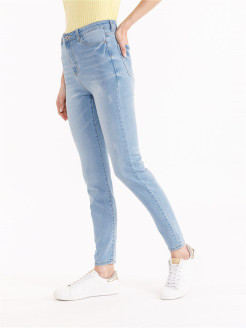 Jeans, elastic material, scuff effect, skinny Zolla