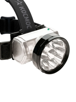 Sports lantern, headlamp, KOCAccuH10LED / КОСМОС