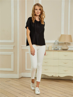 Top, satin ICON JEANS