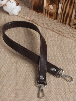 Bag handle, metal, artificial leather А М Дизайн