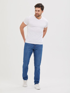 Jeans, breathable material, narrowed ILTANI MAN