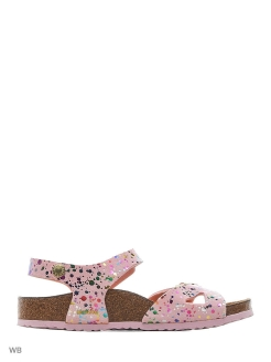 Сандалии Rio Plain Kids BF Cosmic Sparkle White Regular BIRKENSTOCK