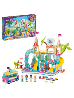 Конструктор LEGO Friends 41430 Летний аквапарк /машинка, транспорт, аттракцион LEGO