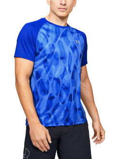Футболка Qualifier ISO-CHILL Printed Short Sleeve Under Armour