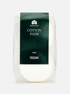 Cotton pads, 100 pieces. Yadah