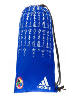 Мешок для кимоно Satin Carry Bag Karate WKF сине-белый adidas