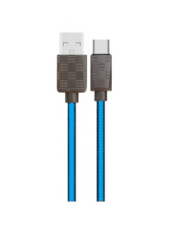 Cable, round, for smartphones, USB Type-C Earldom