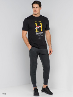 Футболка CL GP HOTEL TEE     BLACK Reebok