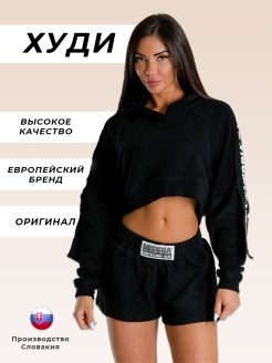 Худи Rebels Hero Ribbon cropped hoodie NEBBIA