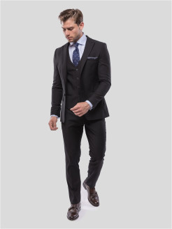 Suit BLACK MOTTE