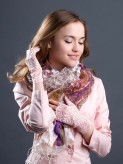 Fingerless gloves Verenitsa