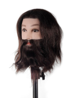Mannequin for a hairdresser, natural, male FANTOMHEADS