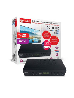 TV receiver D-color
