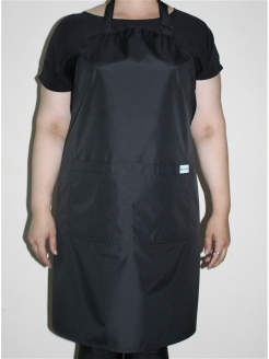 Apron is hairdresser's Starina Grey