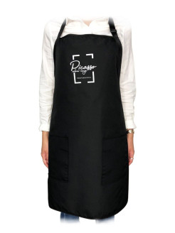 Apron is hairdresser's BB one
