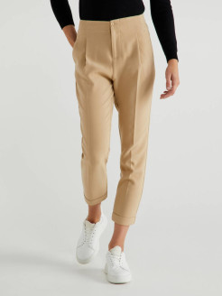 Cropped trousers United Colors of Benetton