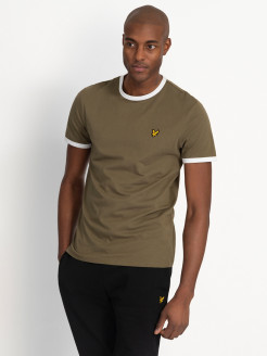 Футболка Ringer T-Shirt Lyle & Scott