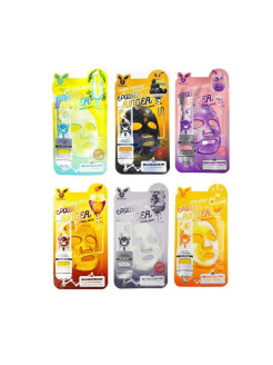 Cosmetic fabric mask, 6 pieces K-S-S