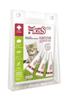 Flea and tick remedy, drops Ms.Kiss