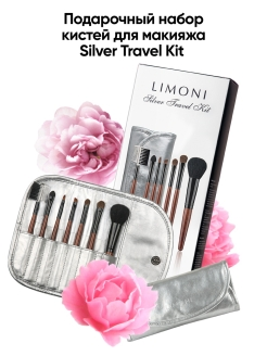 Cosmetic brush, set, synthetic Limoni