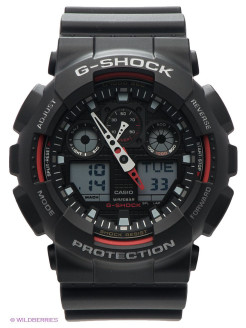 Часы G-SHOCK GA-100-1A4 CASIO