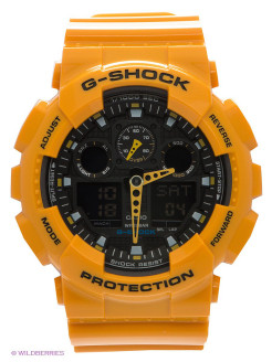 Часы G-SHOCK GA-100A-9A CASIO