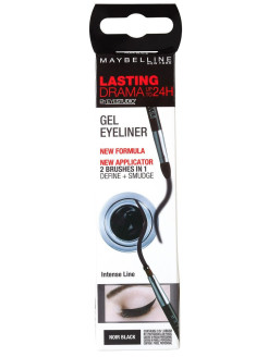 Liquid eyeliner, cardboard box, gel Maybelline New York