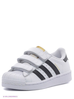 Кроссовки SUPERSTAR FOUNDATIO Adidas