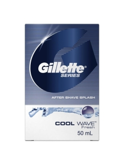 Лосьон после бритья Series, Cool Wave, 50 мл GILLETTE