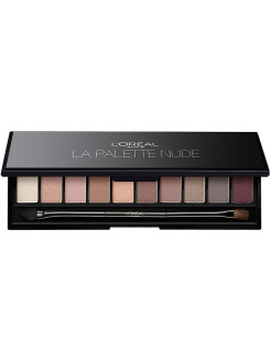 "Палетка теней для глаз ""La Palette Nude, Color Riche"", оттенок 001, Rose L'Oreal Paris"