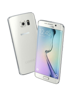 Смартфон Samsung Galaxy S6 Edge 128 ГБ белый Samsung