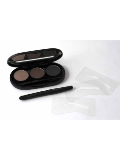 "Набор теней для бровей""Eyebrow Powder Kit"" 01, 8г NOUBA"