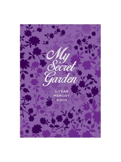 Пятибук My Secret Garden. 5-Year Memory Book Эксмо