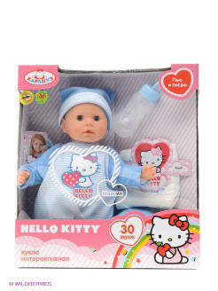 Пупс  hello kitty 35см Карапуз