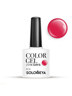 Гель-лак Color Gel Тон Red SCG036/Красный SOLOMEYA