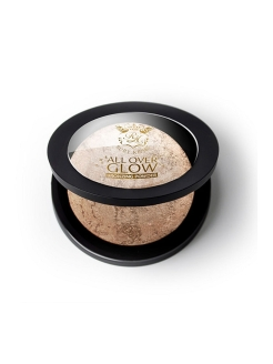 Бронзирующая пудра Light Glow Face & Body Bling Powder Kiss