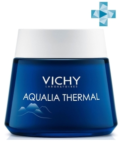 Ночной SPA-уход AQUALIA THERMAL, 75мл. VICHY