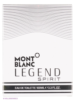 Туалетная вода Montblanc LEGEND SPIRIT FOR MEN EDT SPRAY 100 ML Montblanc