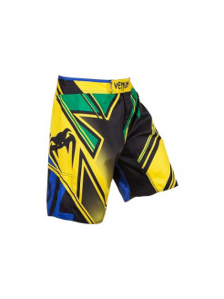 Шорты MMA Wand's Conflict - Yellow/Blue/Green Venum