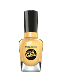 "Гель лак для ногтей ""MIRACLE GEL"", Тон 390 lemon heaven SALLY HANSEN"