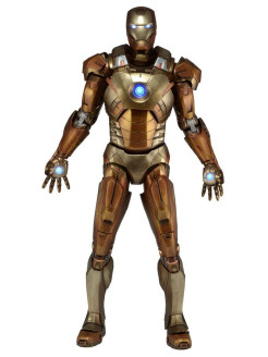 "Фигурка ""Avengers 1/4"" Iron Man Mark XXI - Midas Version (Gold Armor) Neca"