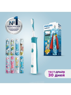 Electric Toothbrush, Sonicare For Kids HX6311 / 07 Philips