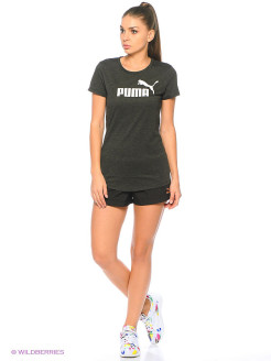 Футболка ESS No.1 Tee Heather W Puma