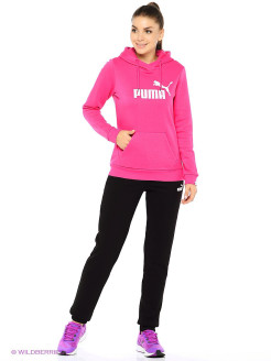 Брюки ESS No.1 Sweat Pants FL W PUMA